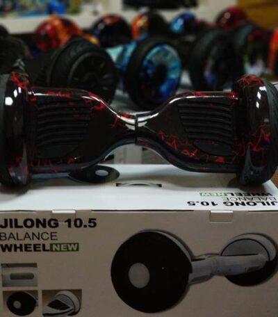 Гироскутер Jilong Balance Wheel Красные Молнии