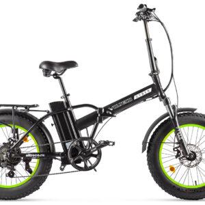 Велогибрид VOLTECO CYBER Черно-салатовый-2169