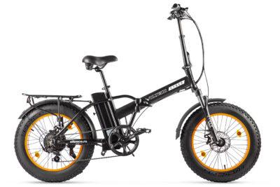 Велогибрид VOLTECO CYBER Черно-оранжевый-2170