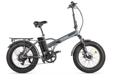 Велогибрид VOLTECO CYBER Серо-черный-2172