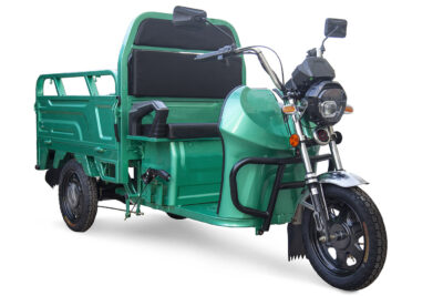 Грузовой электротрицикл Rutrike Вояж К1 1200 60V800W Серый-2408