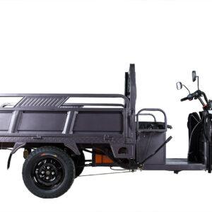 Грузовой электротрицикл Rutrike D4 1800 60V1200W темно-серый-1982