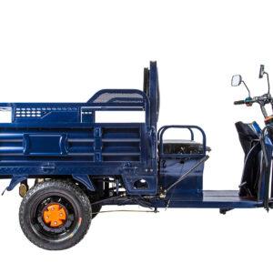 Грузовой электротрицикл Rutrike D4 1800 60V1200W Синий-1981