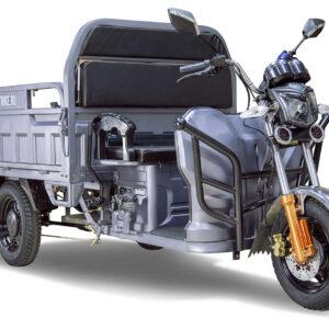 Грузовой электротрицикл Rutrike Гибрид 1500 60V1000W Серый-2053