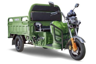 Грузовой электротрицикл Rutrike Гибрид 1500 60V1000W Зеленый-1966