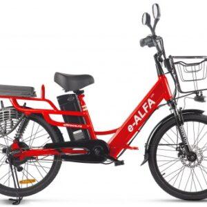 Электровелосипед GREEN CITY e-ALFA LUX купить во Владимире